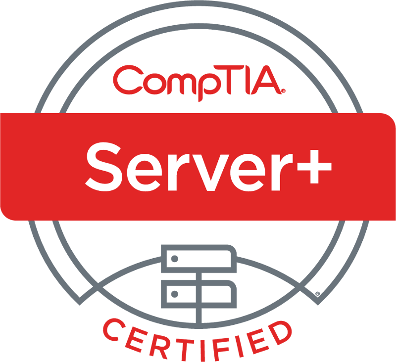 Comptia Server+ Certified